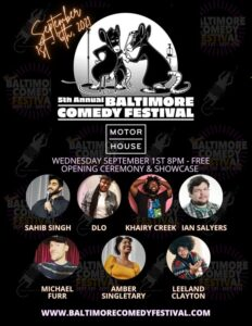 Baltimore Comedy Festival Opening Ceremony and Showcase