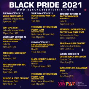 BLACK ARTS DISTRICT BLACK PRIDE