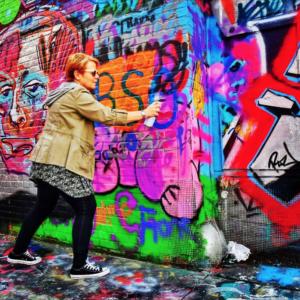 Outdoor Summer Jam Weekend in Graffiti Alley
