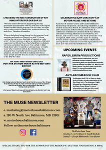 THE MUSE NEWSLETTER (APRIL 2021) 1