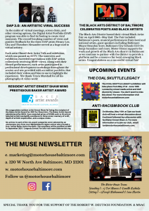 THE MUSE NEWSLETTER (APRIL 2021 EDITION) 1