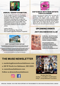 THE MUSE NEWSLETTER (JUNE 2021 EDITION) 1