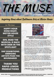 THE MUSE NEWSLETTER (SEPTEMBER 2021 EDITION)